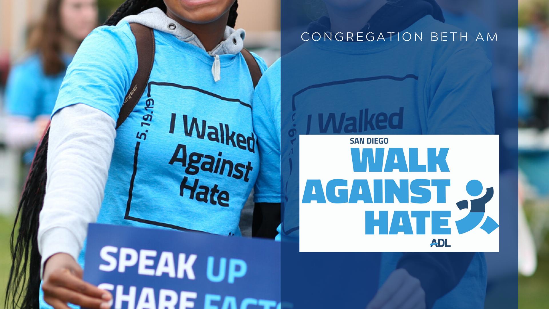 Banner Image for ADL: Walk Against Hate CBA Team