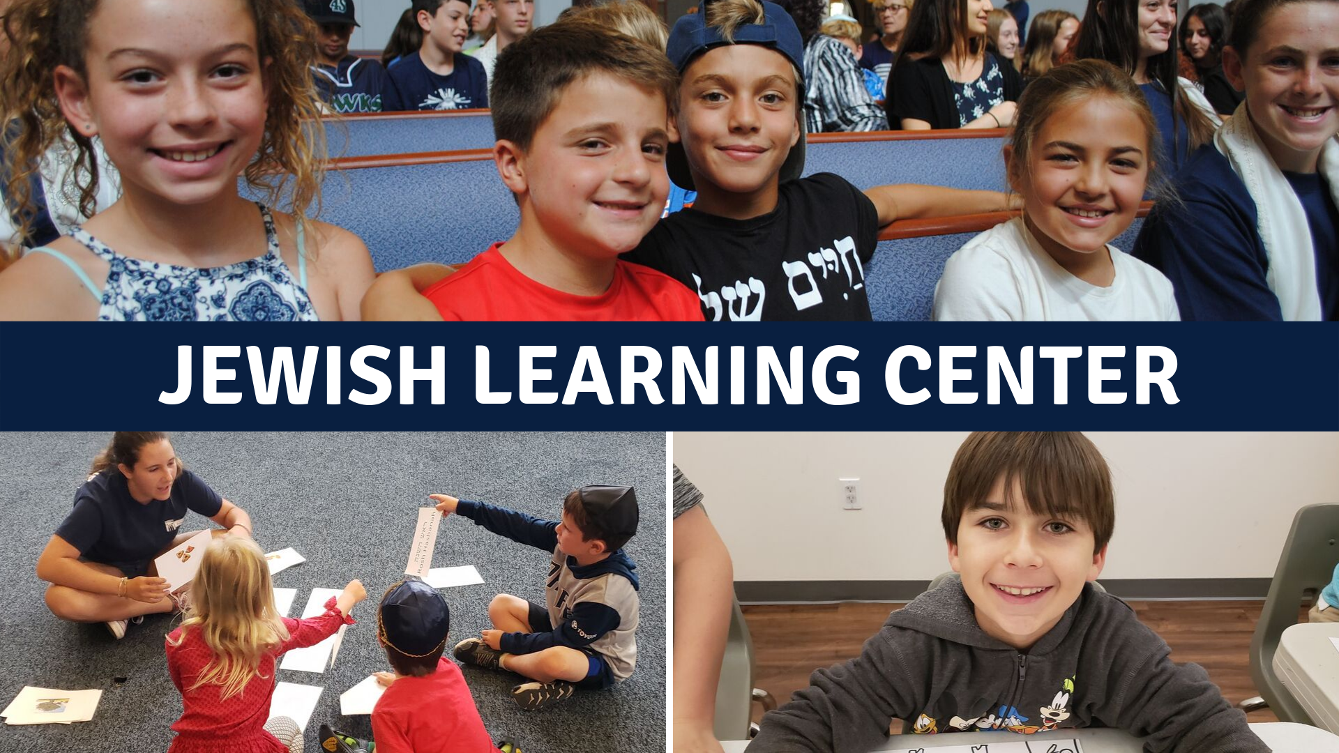 Banner Image for Jewish Learning Center