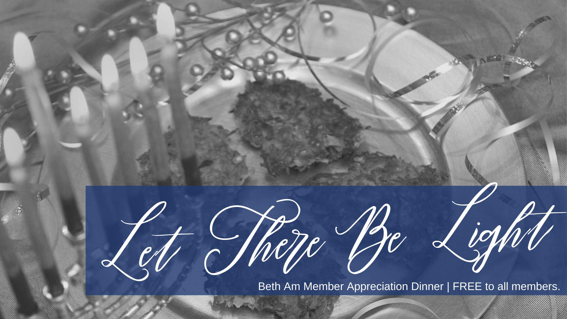 Banner Image for Let There Be Light (Pre-Hanukkah Dinner)