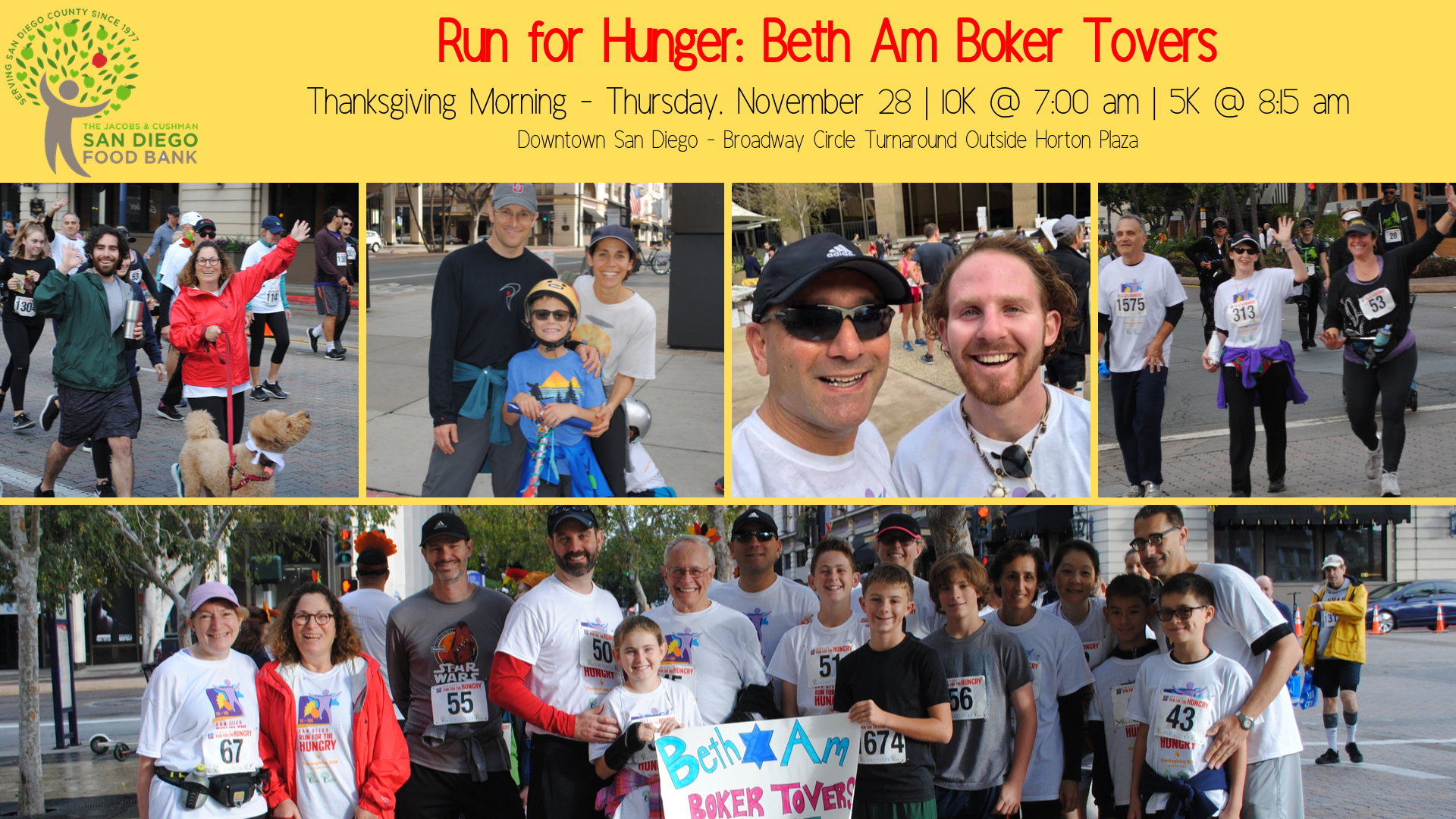 Banner Image for Beth Am Boker Tovers: Run For Hunger