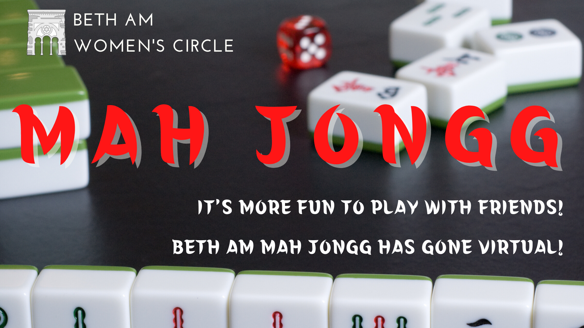Banner Image for Mah Jongg Game (virtual)
