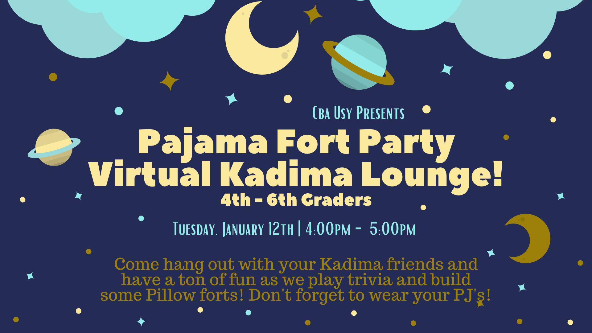 Banner Image for Kadima Lounge - Grades 4 - 6