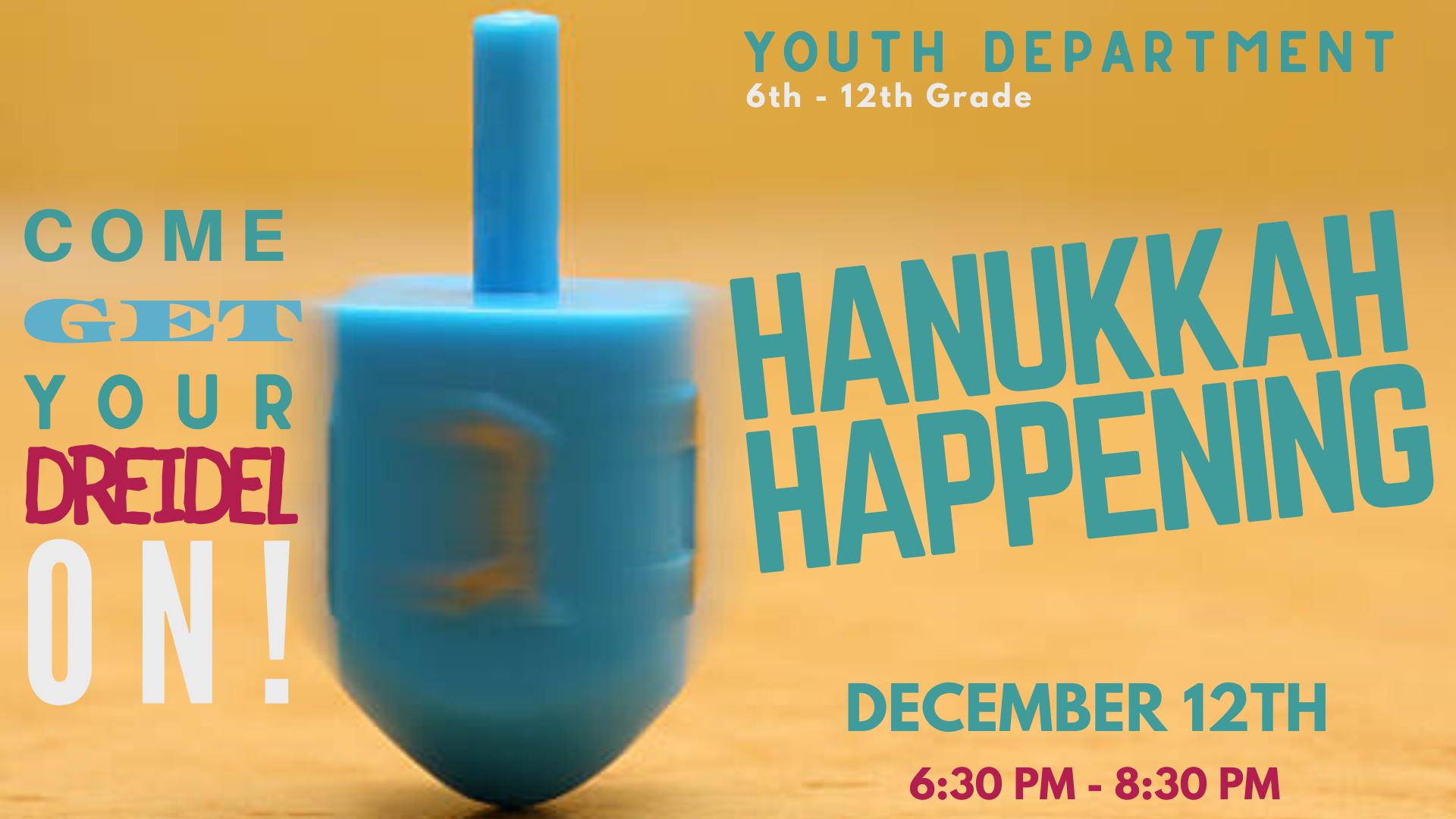 Banner Image for USY Hanukkah Happenings
