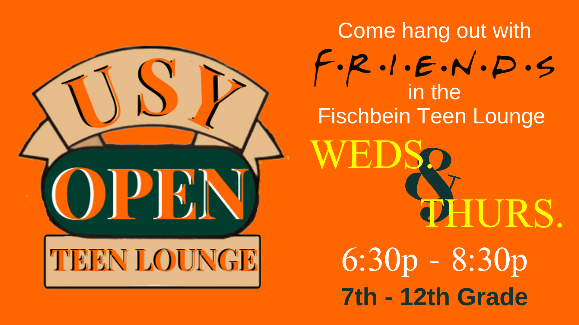 Banner Image for USY Open Lounge Night