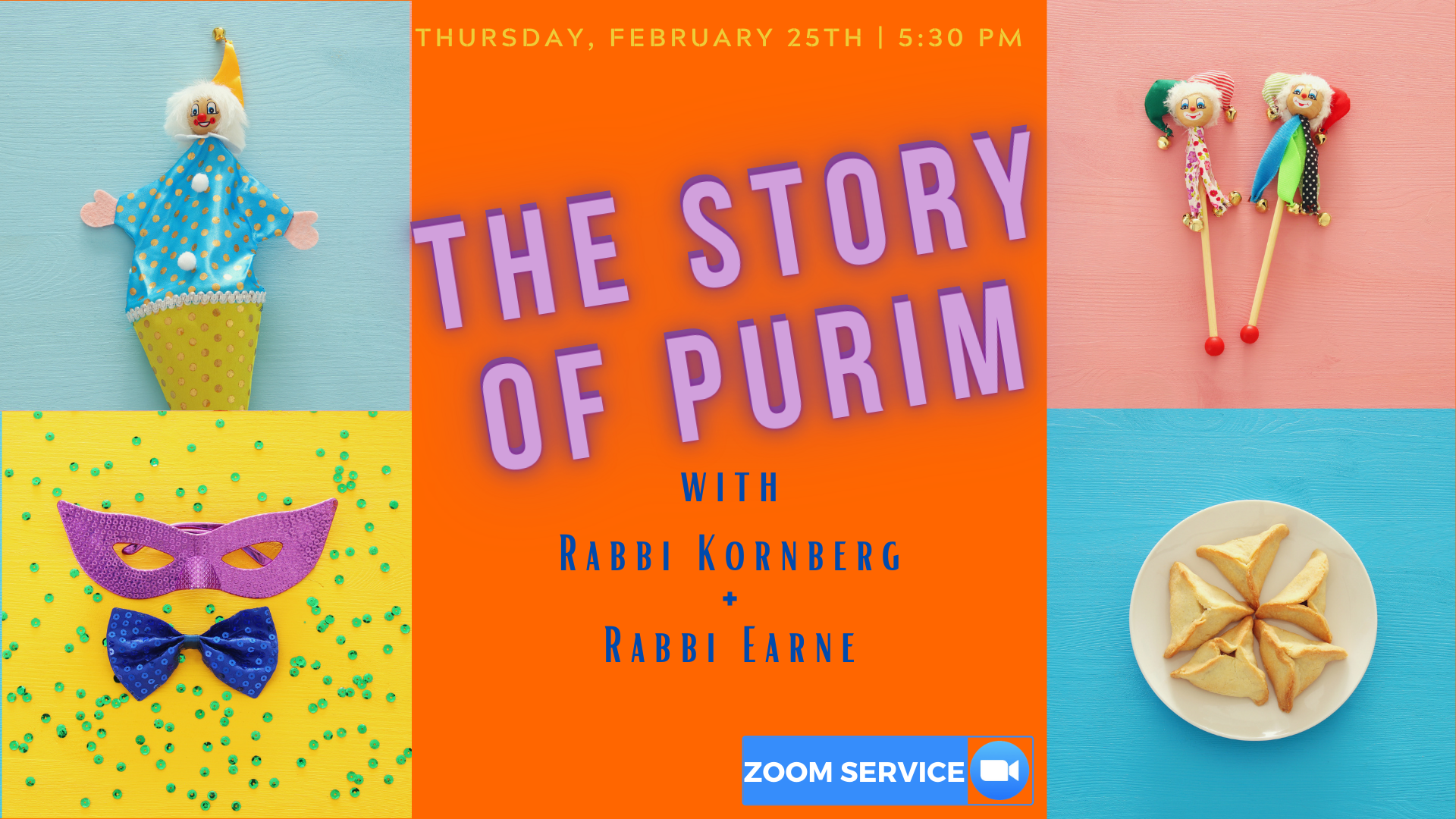 Banner Image for The Story of Purim + Parade