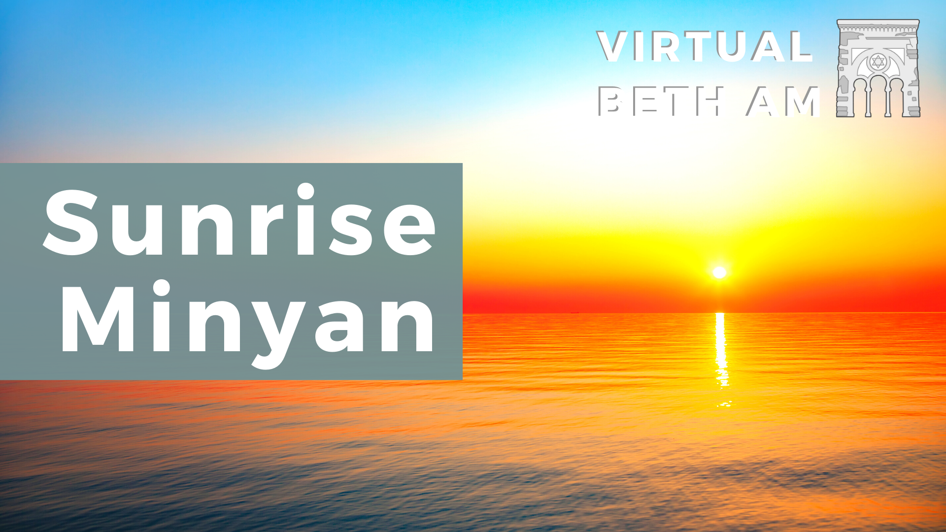 Banner Image for Sunrise Minyan