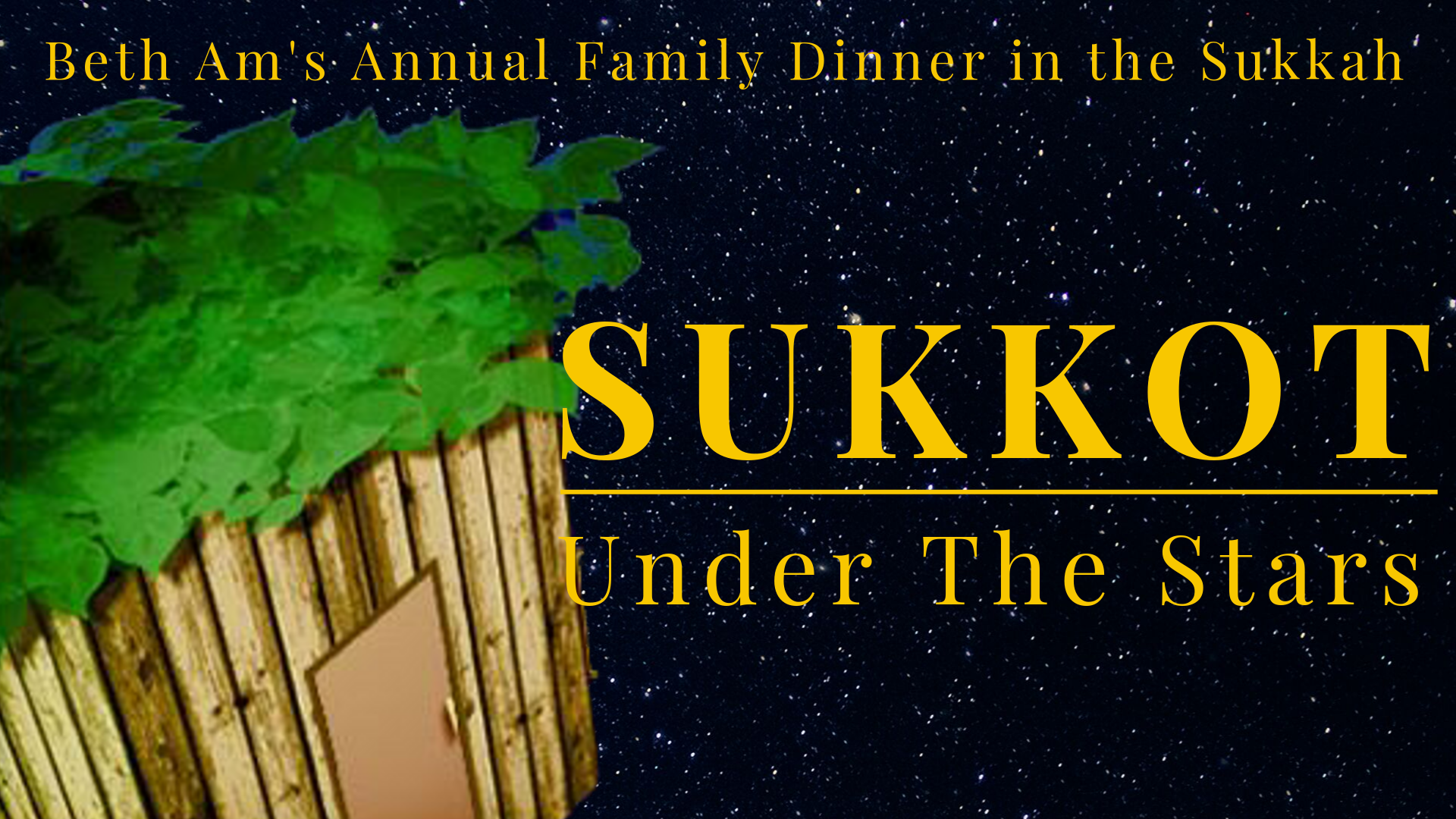 Banner Image for Sukkot Under The Stars