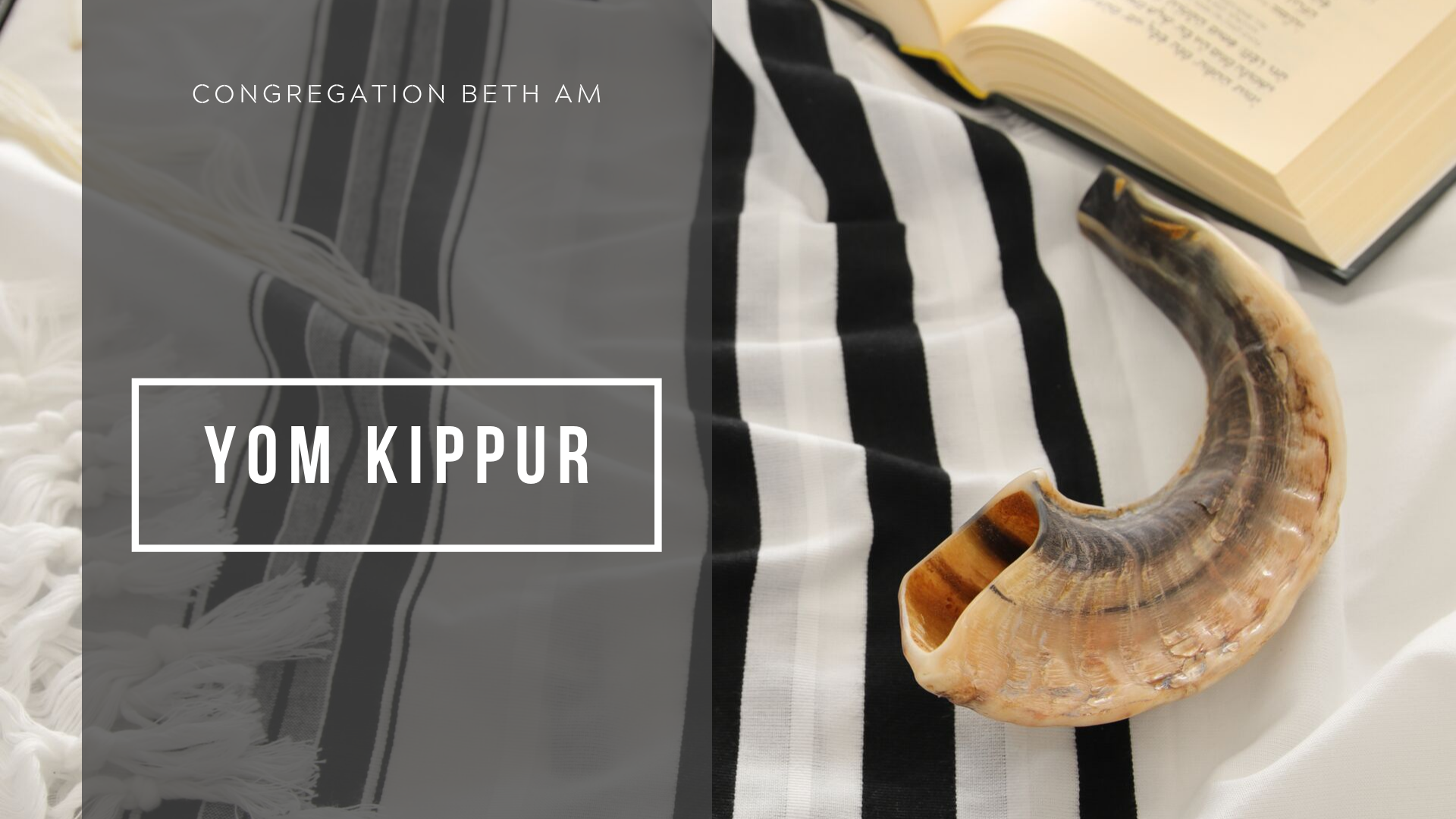 Banner Image for Yom Kippur Service (Virtual)