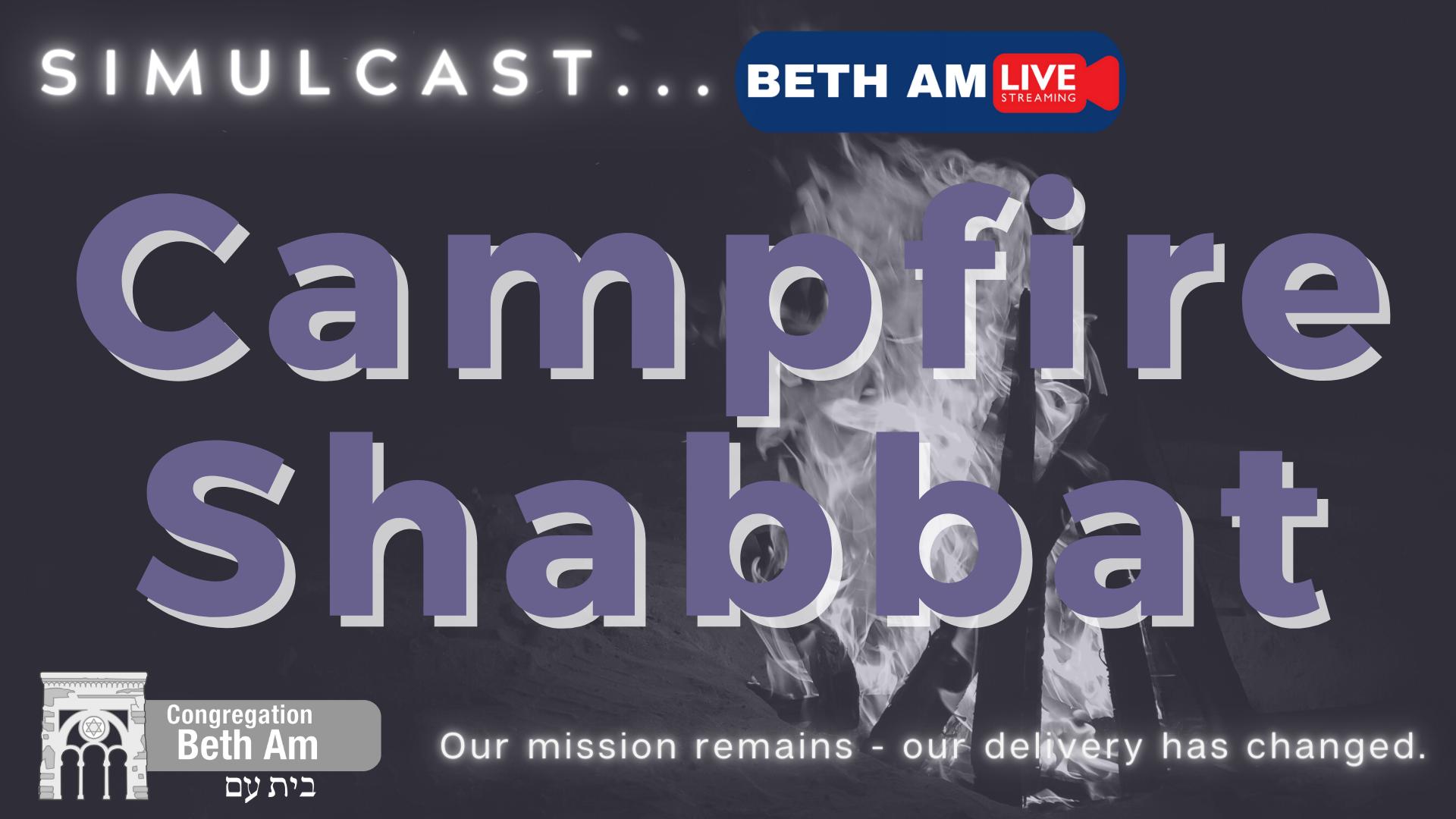 Banner Image for Campfire Shabbat