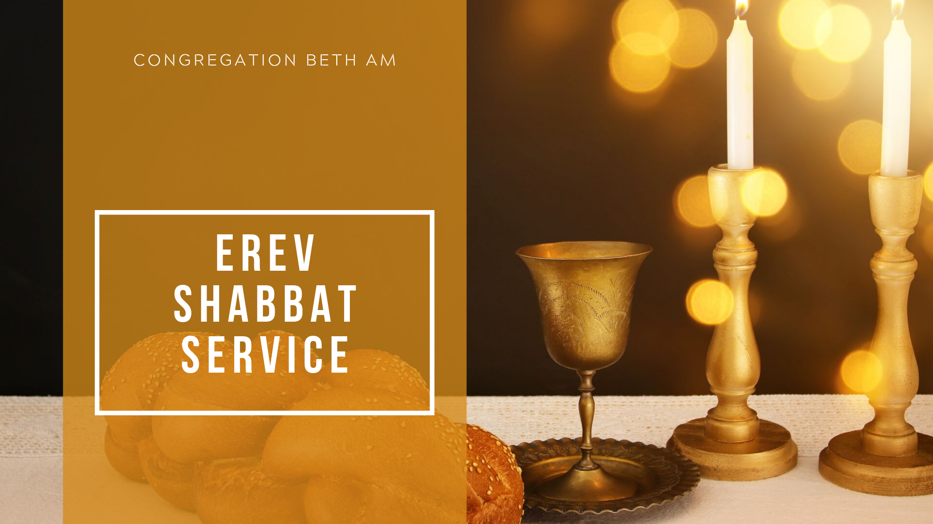 Banner Image for Erev Shabbat Service (cancelled)