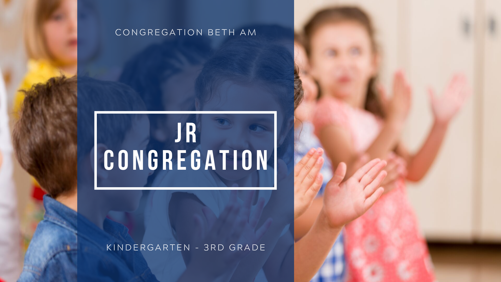 Banner Image for Cancelled: Jr. Congregation