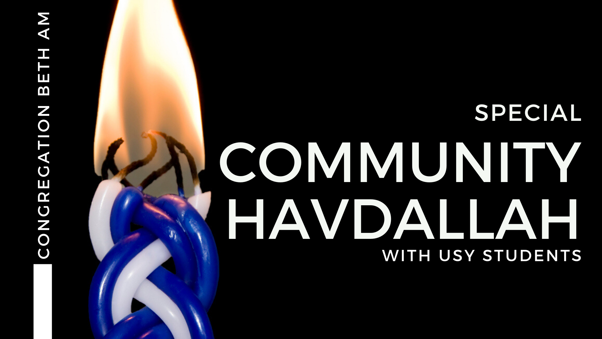 Banner Image for Special Community Havdallah with USY (virtual)