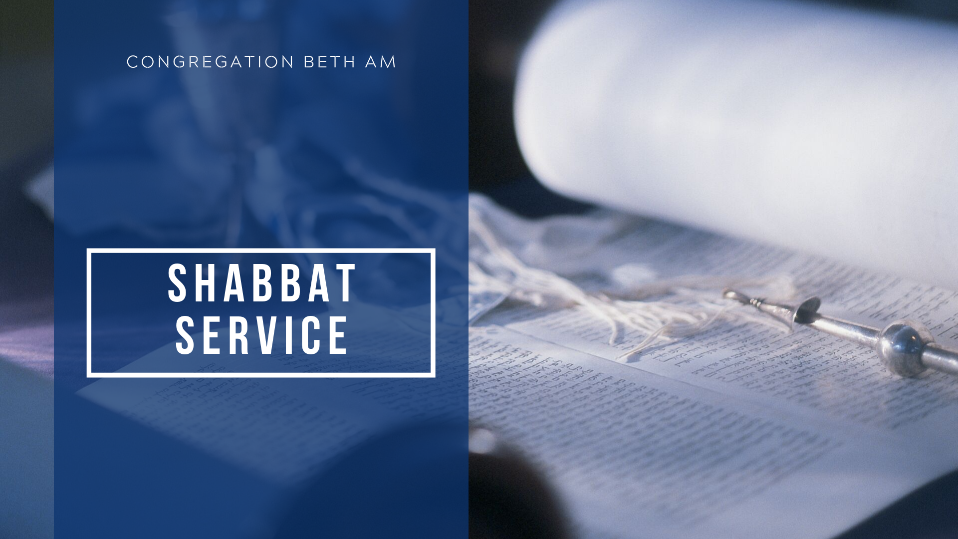 Banner Image for Shabbat Morning Service