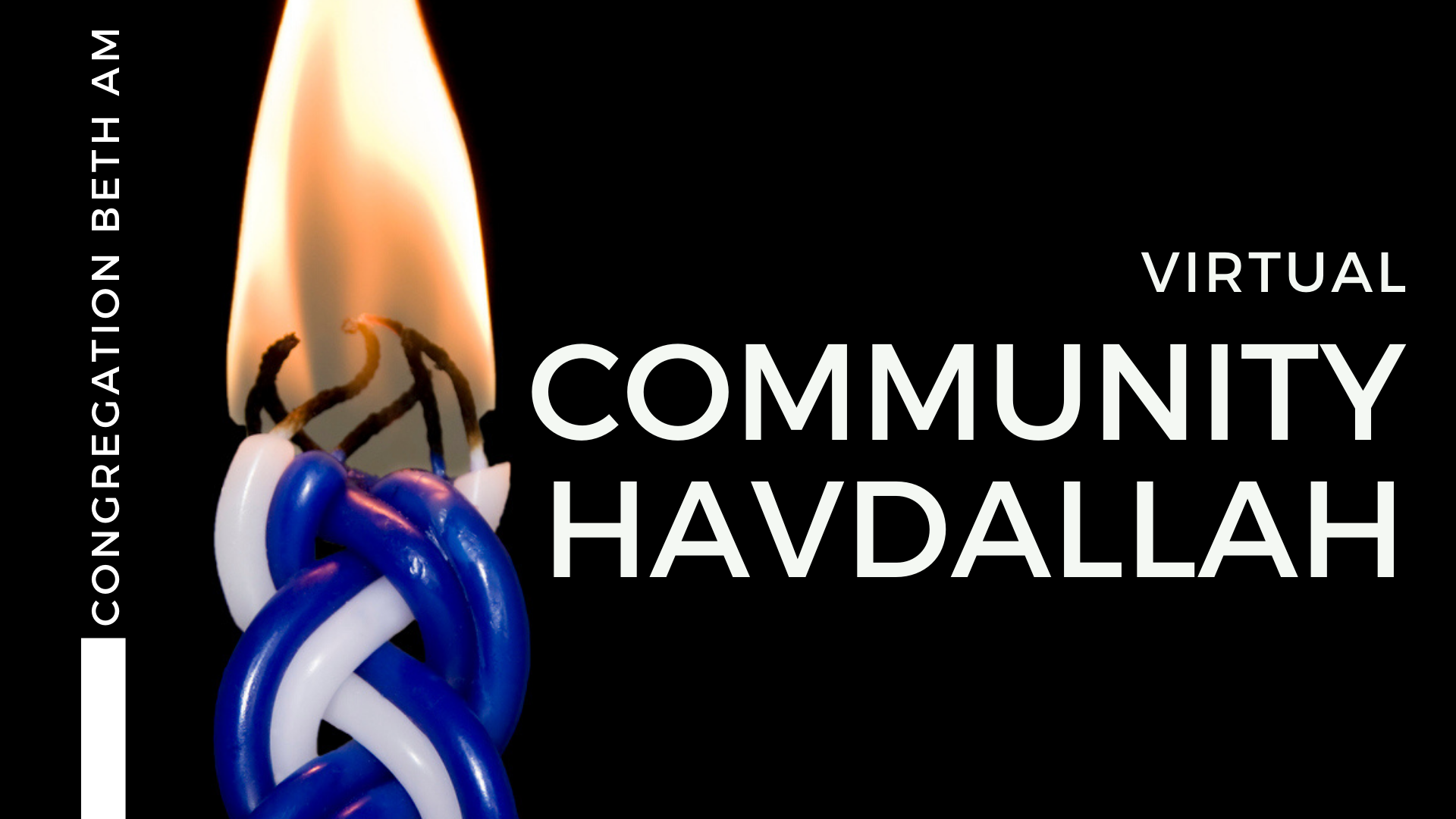Banner Image for Community Havdallah (virtual)