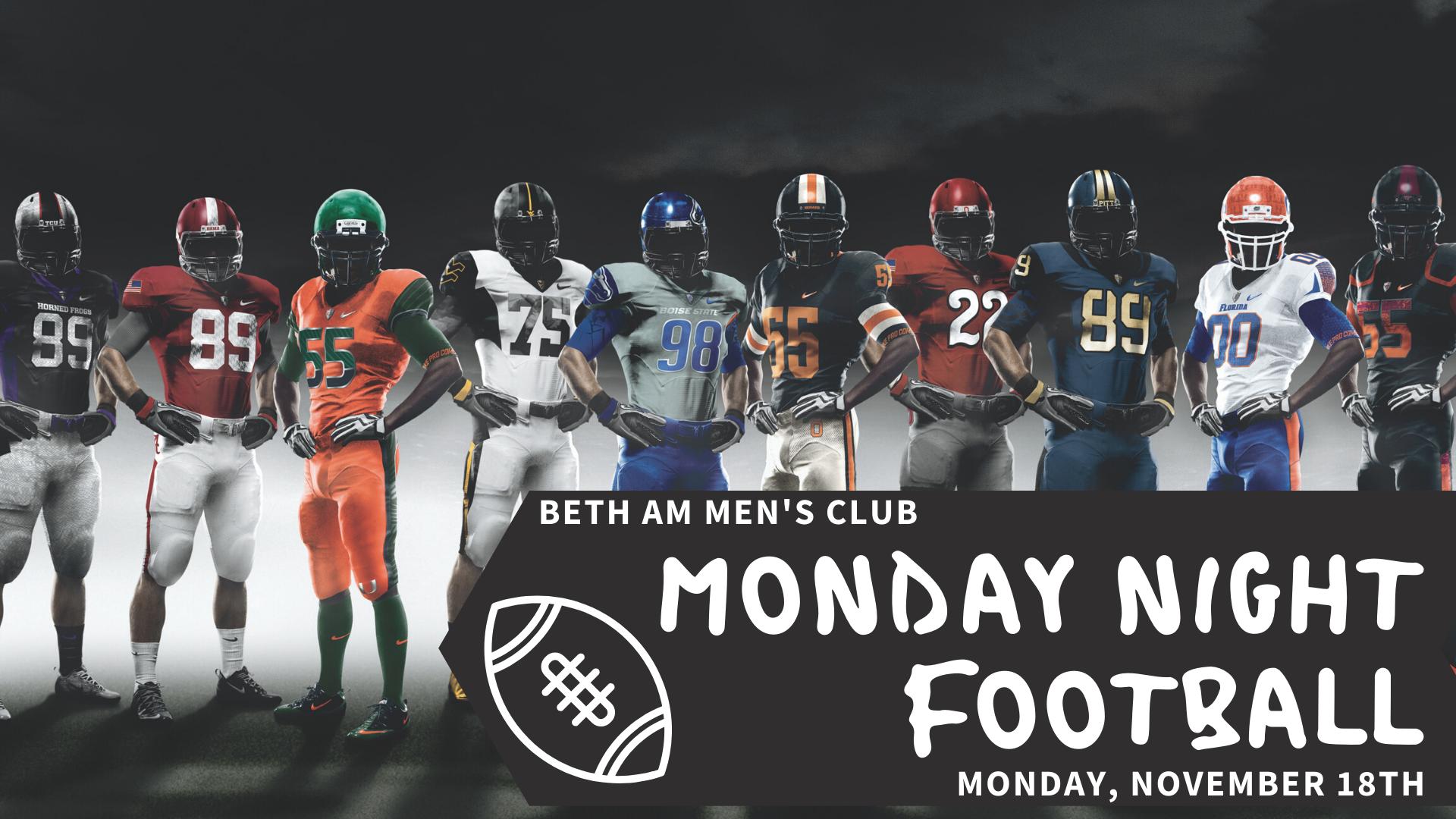 Banner Image for BAMC: Monday Night Football
