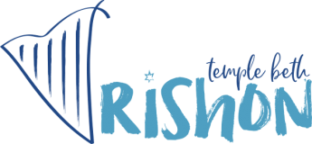 Logo for Temple Beth Rishon
