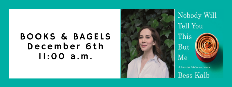Banner Image for Books & Bagels