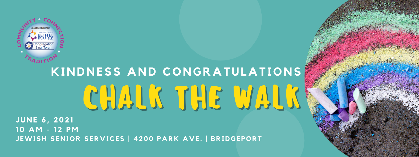 Banner Image for Chalk the Walk - a BT/BE Collaboration Event