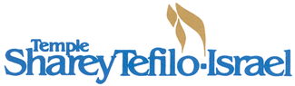 Logo for Temple Sharey Tefilo-Israel