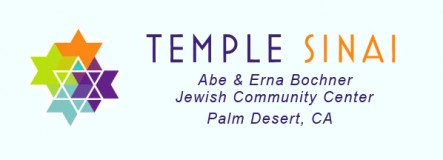 Logo for Temple Sinai of Palm Desert