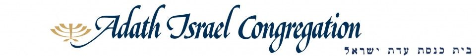 Logo for Adath Israel Congregation