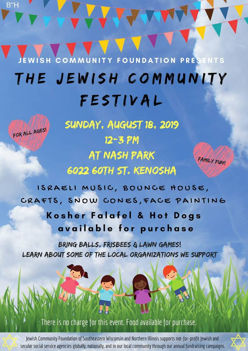 Banner Image for The Jewish Community Festival