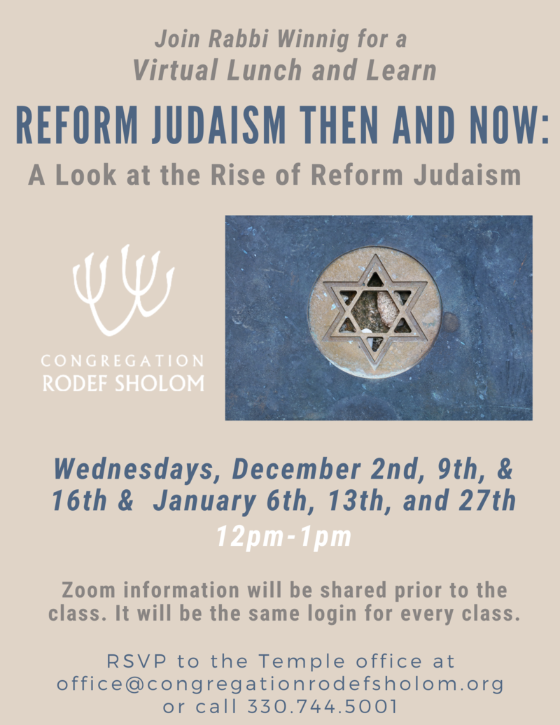 Banner Image for Lunch and Learn with Rabbi Winnig