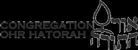 Logo for Congregation Ohr HaTorah