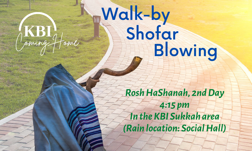 Banner Image for Walk-by Shofar Blowing