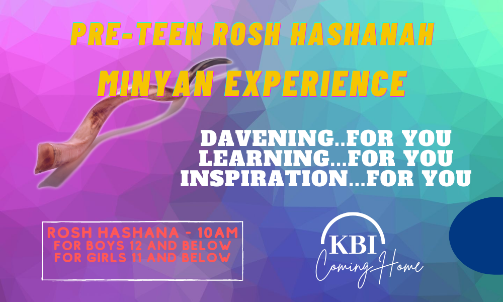 Banner Image for Pre-Teen Minyan Experience