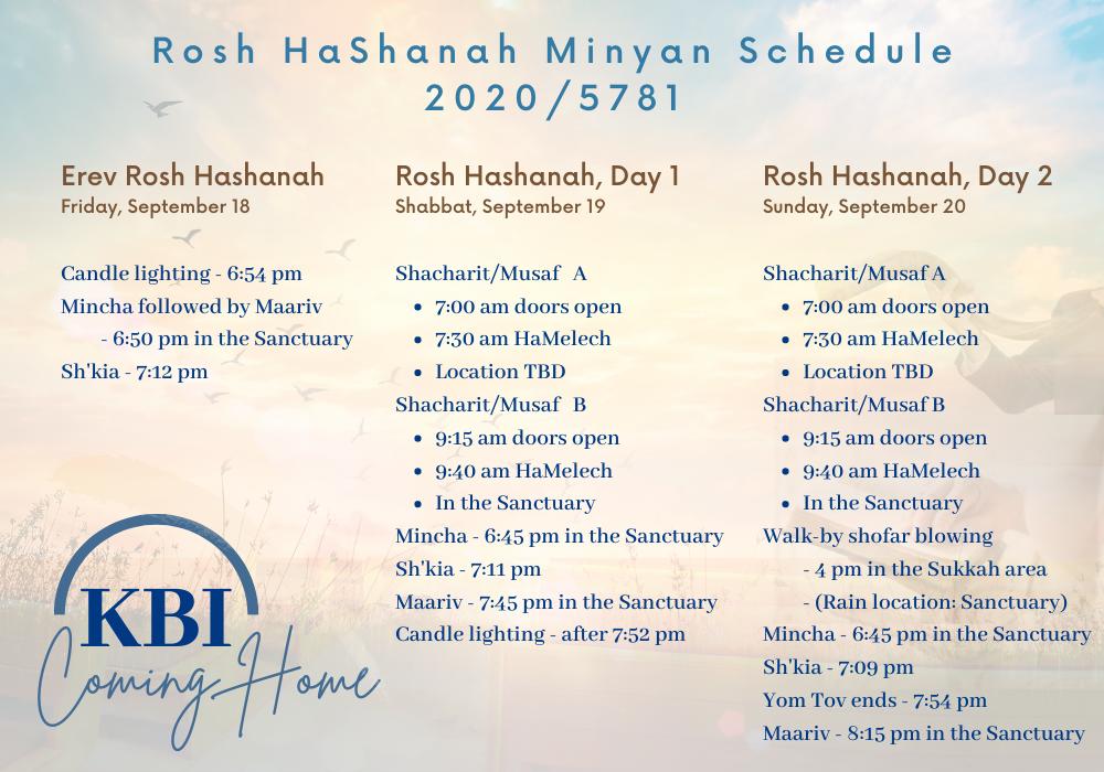 Banner Image for Rosh HaShana Minyan