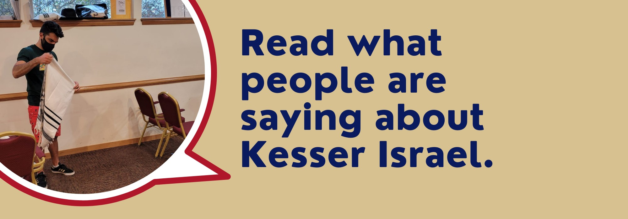 """<a href=""""https://www.kesserisrael.org/testimonials""""                                     target="""""""">                                                                 <span class=""""slider_title"""">                                     Testimonials                                </span>                                                                 </a>                                                                                                                                                                                       <span class=""""slider_description"""">Read what others have to say about their experience at Kesser!</span>                                                                                     <a href=""""https://www.kesserisrael.org/testimonials"""" class=""""slider_link""""                             target="""""""">                             Click Here                            </a>"""