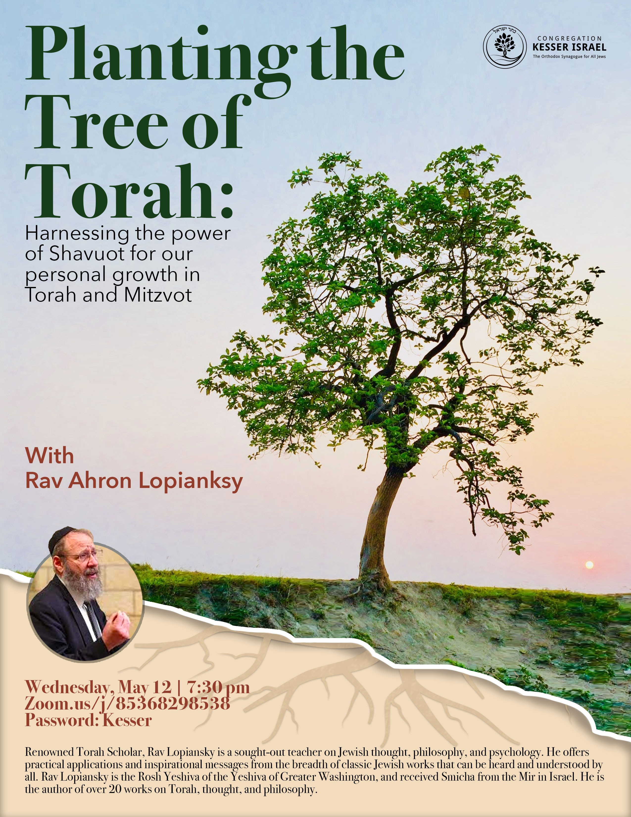 Banner Image for Planting the Tree of Torah
