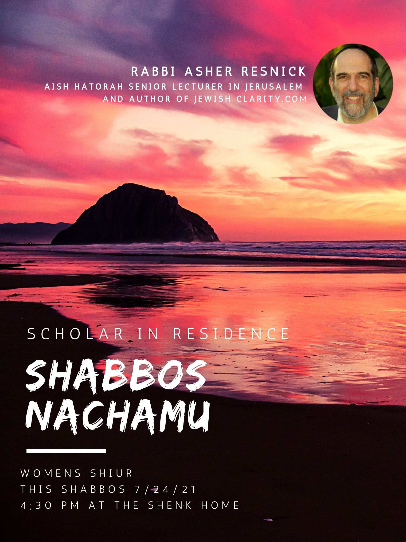 Banner Image for Shabbat Nachamu Women's Shiur