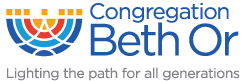 Logo for Congregation Beth Or