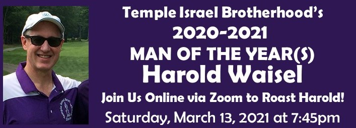 Banner Image for Brotherhood: Man of the Year - Harold Waisel