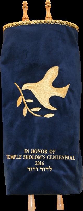 Temple Sholom Greenwich CT Centennial Torah