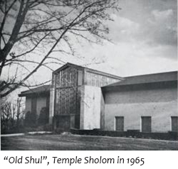 Temple Sholom Greenwich CT Synagogue Building 1965