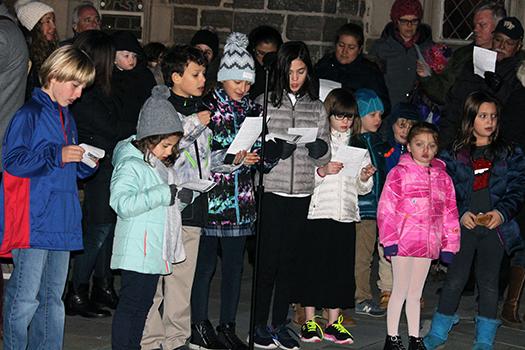Sholom Interfaith Lighting Ceremony Greenwich CT December 2016