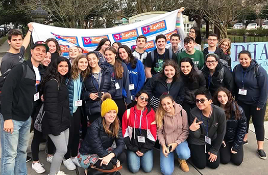 Temple Sholom J-Teen Community Service Trip to New Orleans 2019