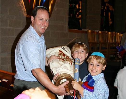 Temple Sholom Synagogue Greenwich CT Simchat Torah