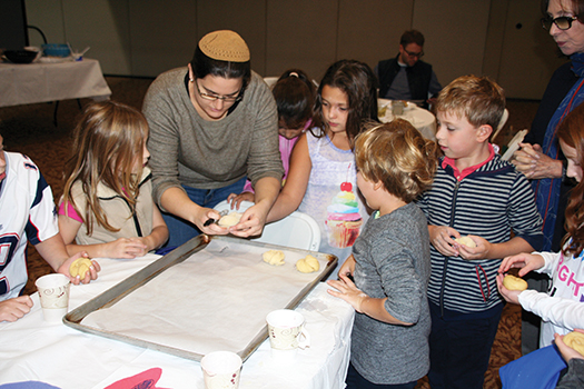 Temple Sholom Greenwich Youth Challah Baking