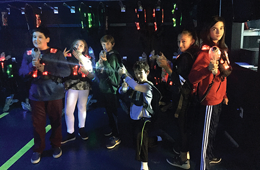 Temple Sholom Greenwich Youth Laser Tag