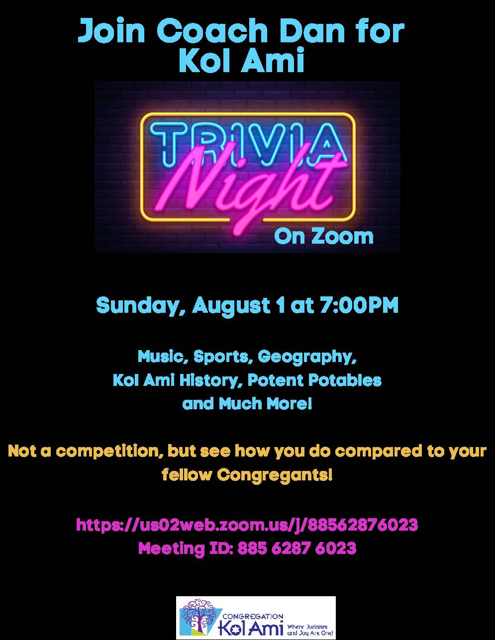 Banner Image for TRIVIA NIGHT ON ZOOM