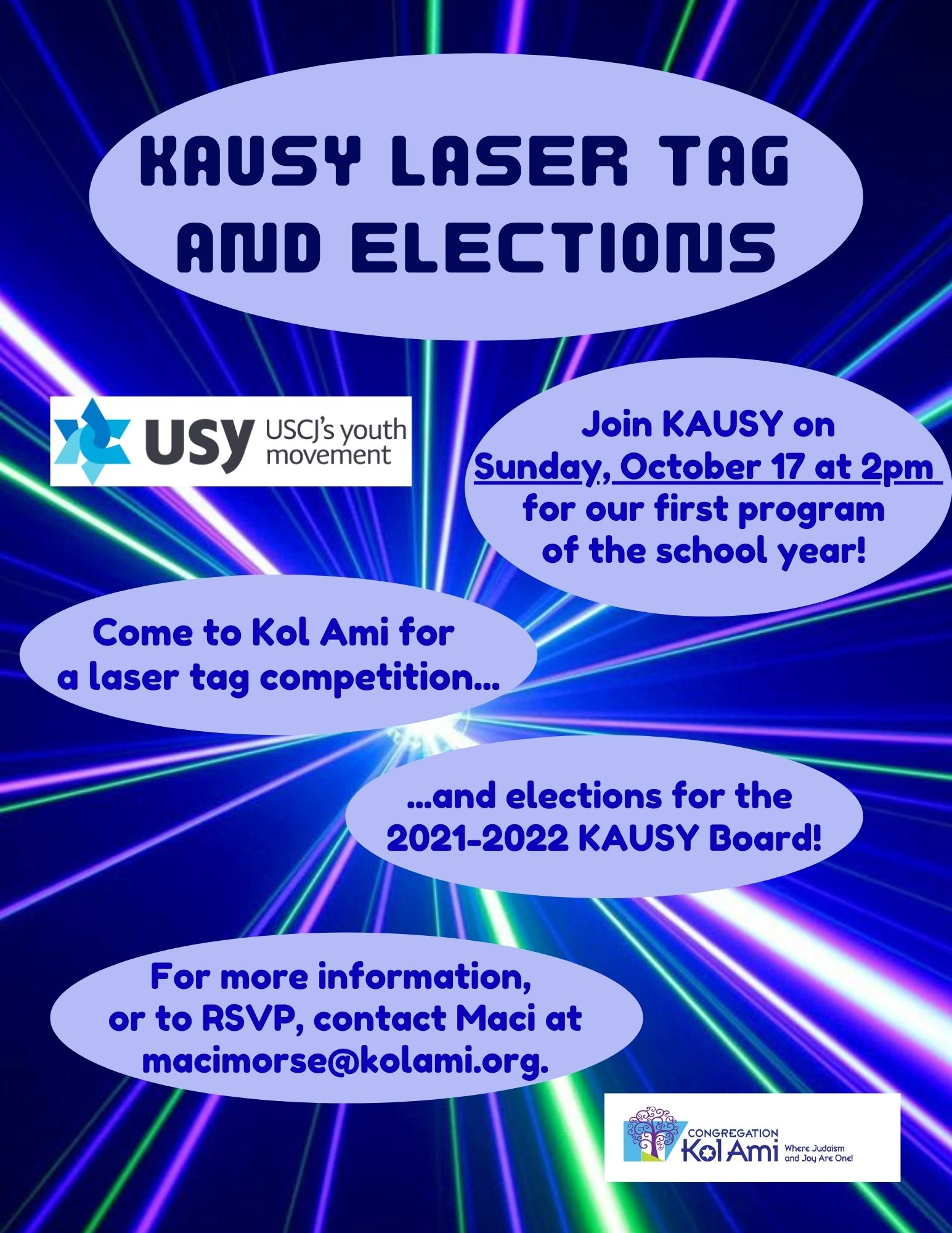 Banner Image for USY Laser Tag and Elections