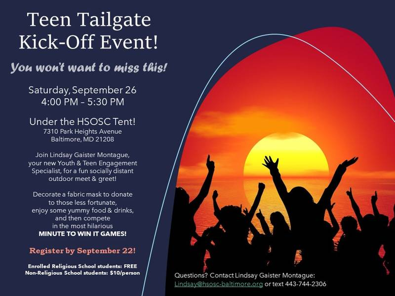 Banner Image for Teen Tailgate Kick-Off Event!