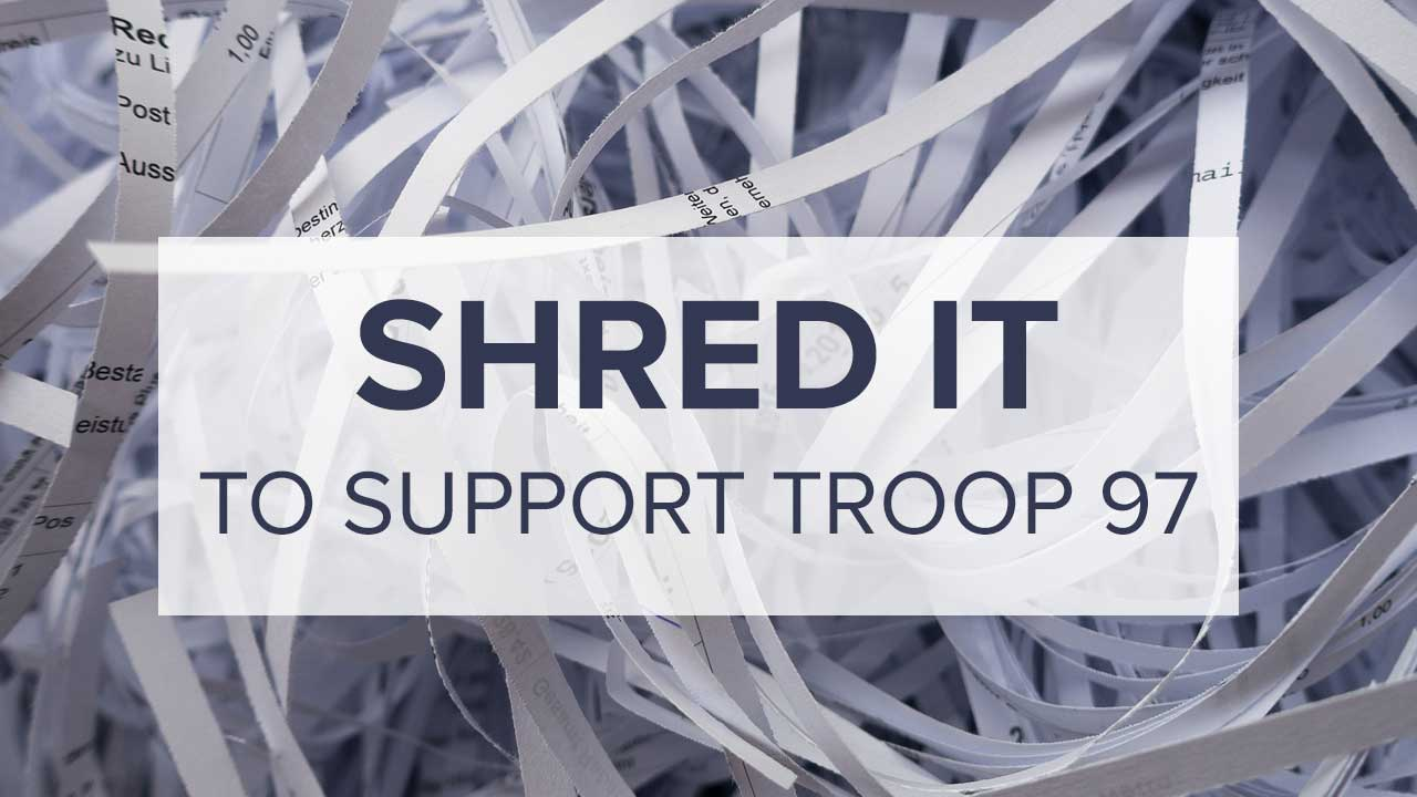 Banner Image for Shredding Event to Support Troop 97
