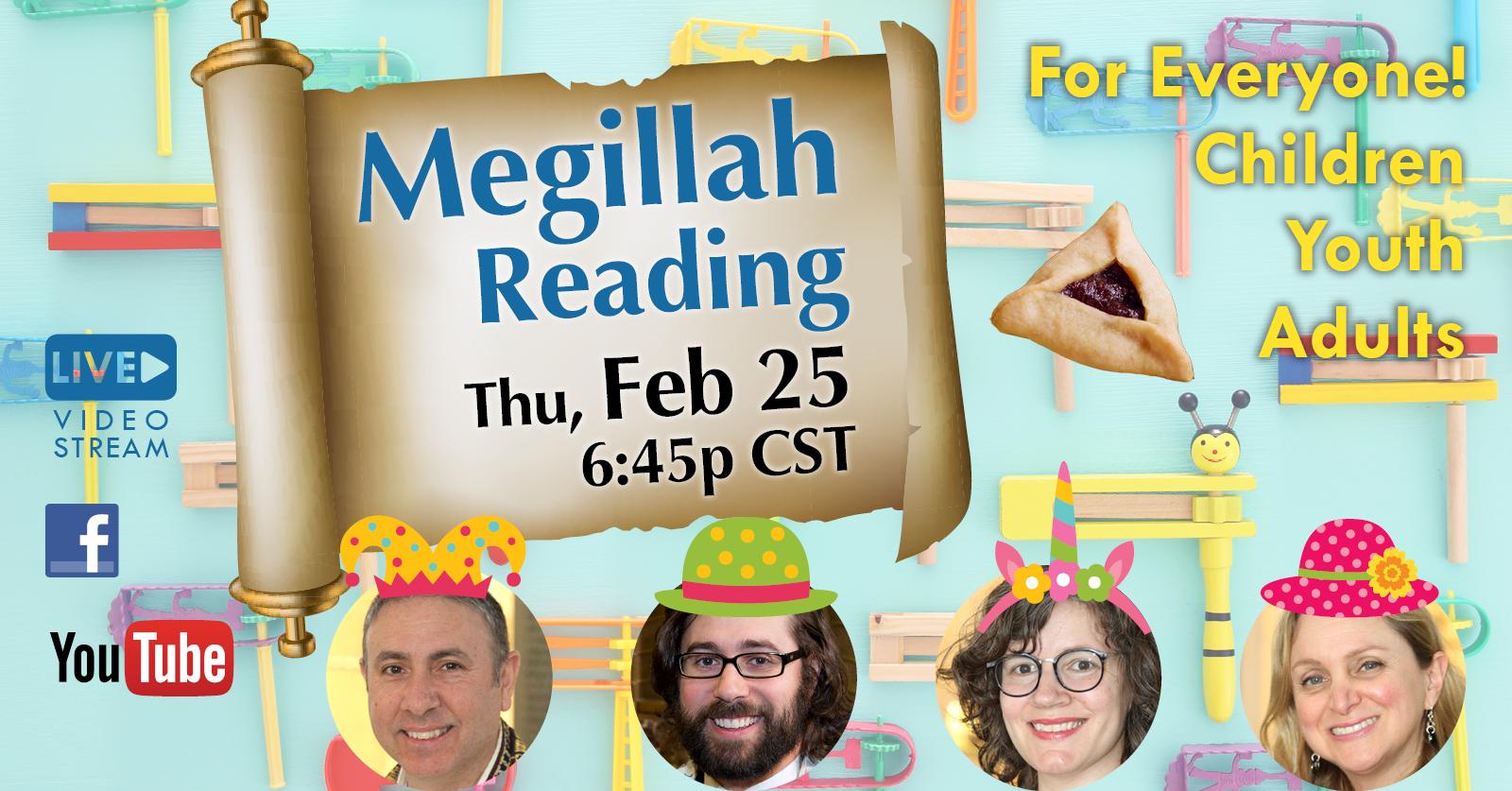 Banner Image for Virtual Megillah Reading