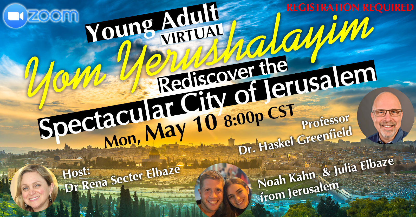 Banner Image for Yom Yerushalayim Young Adult Event