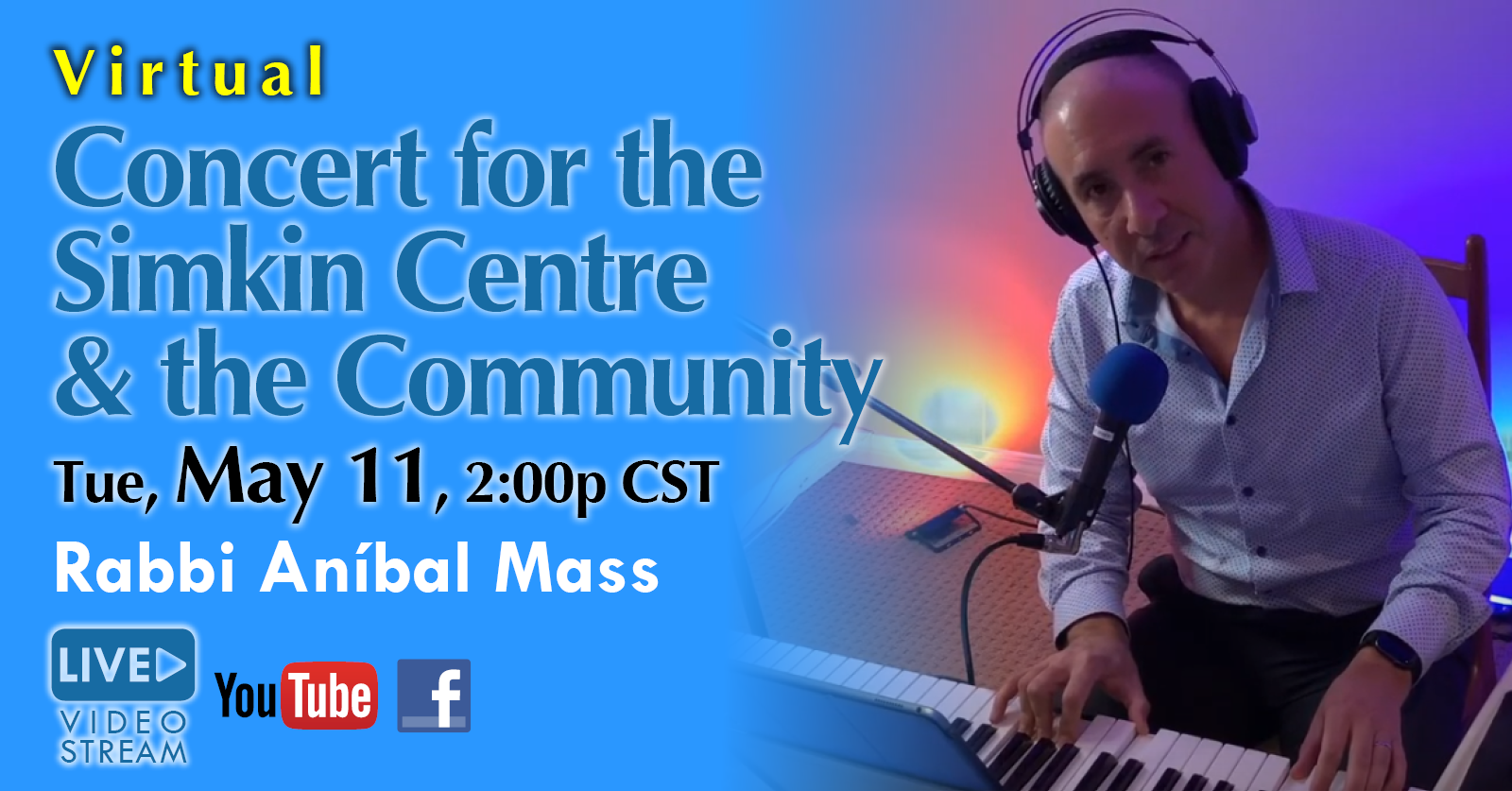 Banner Image for Concert for the Simkin Centre & the Community
